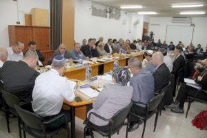 ישיבת מועצת העיר לוד צילום.דוברות העירייה