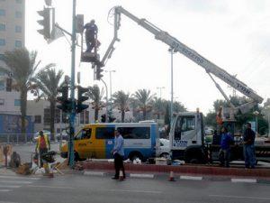 היעד 400 מצלמות ביטחון בכל פינה בעיר.