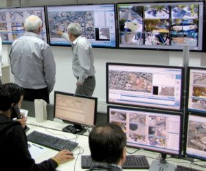 המוקד העירוני הרואה והחמל העירוני הממוגן והמצויד ברמה טכנולוגית גבוהה