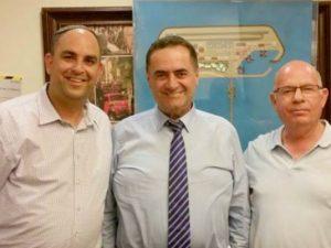 מפגש השר עם ראשי הערים. צילום: דוברות עיריית לוד.