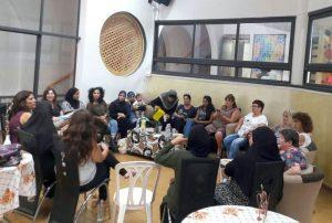 מפגשים משותפים לנשים מובילות ערביות ויהודיות במתנס שיקאגו ברמת אשכול.צילום דוברות עיריית לוד
