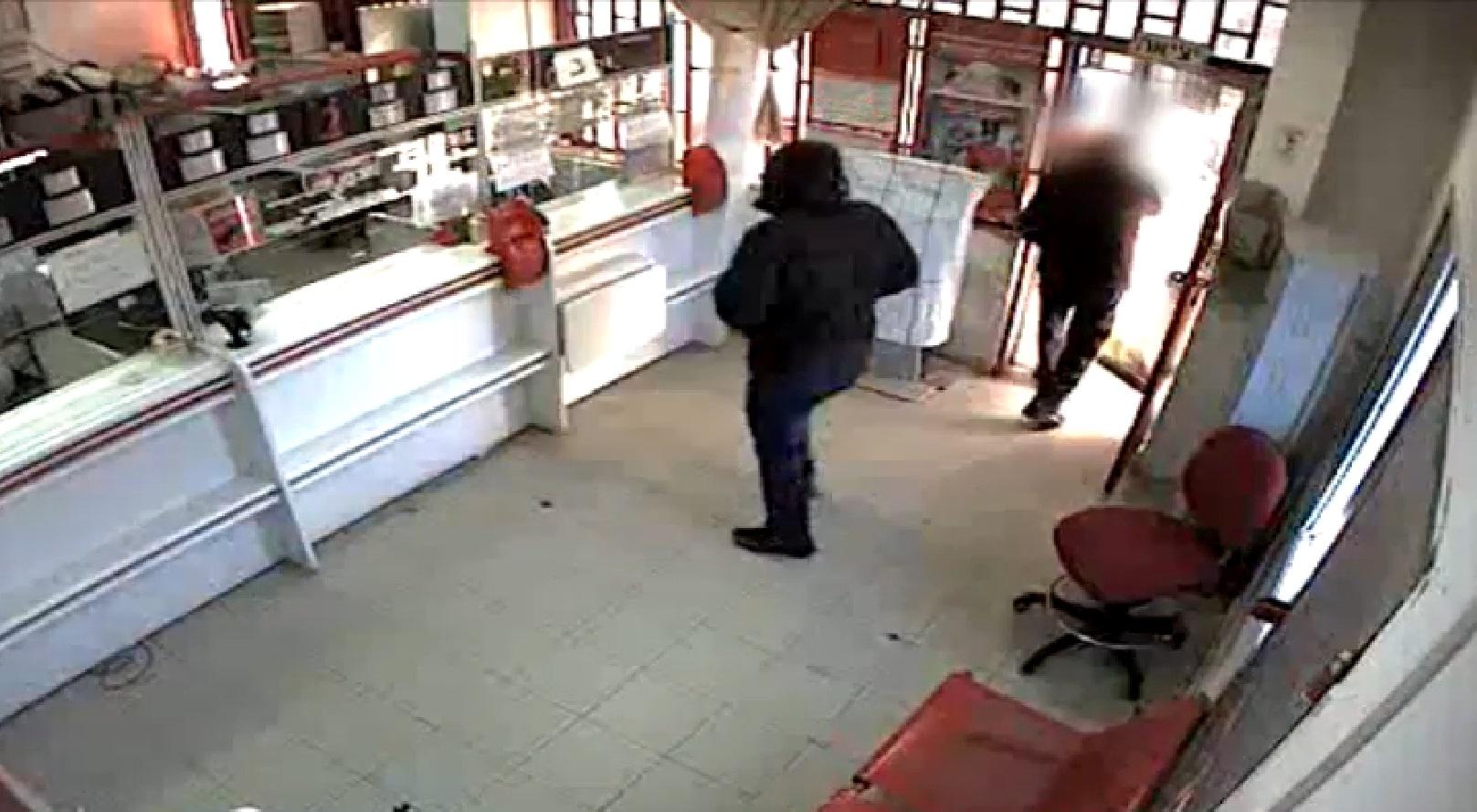 שוד בסניף הדואר ברמלה סרט אבטחה