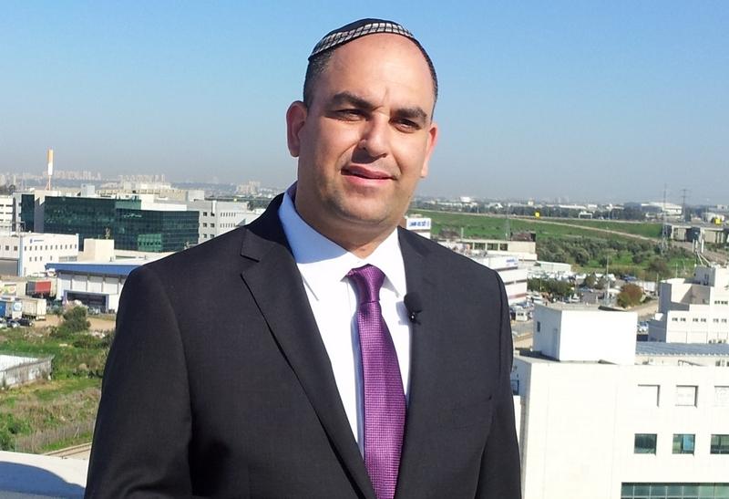 ראש עיריית לוד יאיר רביבו