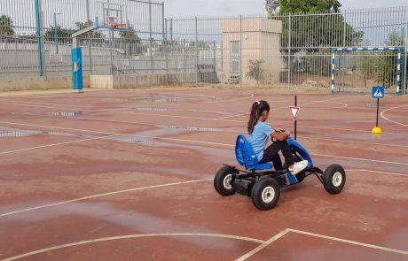 עמותת אור ירוק בלוד מציגה:חוויית בטיחות בדרכים לילדים