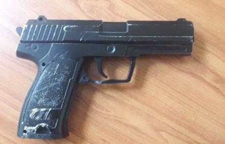משטרת ישראל עצרה חשוד בארבעה מקרים של שוד באיומי אקדח שאירעו השבוע בעיר