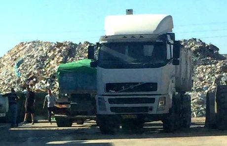 פעילות ממוקדת בלוד למיגור תופעת השלכת פסולת פיראטית בעיר