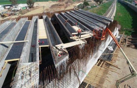 חברת נתיבי איילון מאיצה את העבודות בכביש 200 עוקף רמלה-לוד