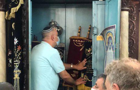 """רה""""ע רביבו וחברי המועצה יצאו לסיור סליחות בירושלים – ומי לא בא?"""