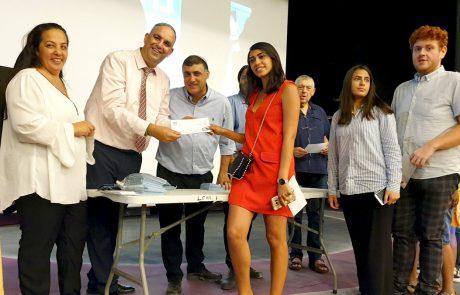 לעידוד הסטודנטים בלוד: חולקו 360 מלגות ראש העיר בהיקף של כ-620 אלף ₪