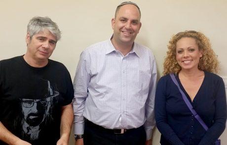 אורלי יאיר וגיא מקדמים פרוייקט חברתי בלוד