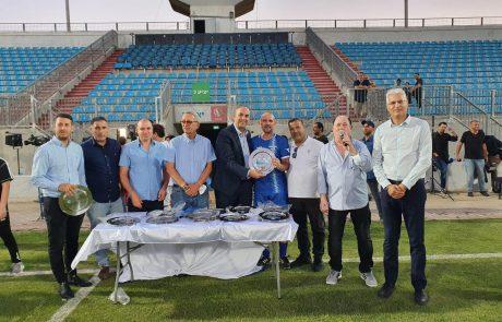 משחק כדורגל לאחווה ודו-קיום התקיים באצטדיון העירוני לוד