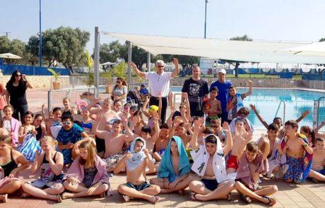 בקפיצה, בשחיה ובגלגול… סוף שנה בספורט הנוער בלוד