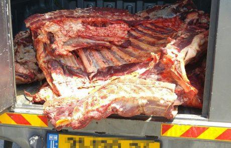200 קילוגרם של בשר פיגולים נתפסו בלוד