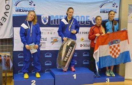 2 מדליות זהב לדנה דנילנקו מלוד בטורניר בסלובניה
