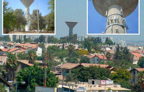מאבק עירוני כנגד האנטנות הסלולאריות ממגדל המים בדיזראלי