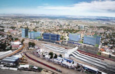380 מליון ₪: החלה בניית מתחם התחבורה החדש בלוד