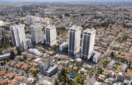"""הוותמ""""ל החליטה להפקיד תוכנית פינוי-בינוי ברמלה הכוללת 610 יחידות דיור"""