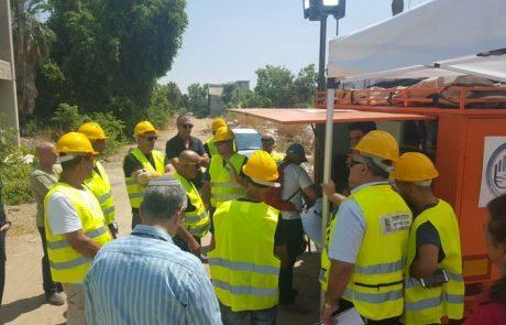 עיריית לוד תרגלה בהצלחה היערכות לרעידת אדמה