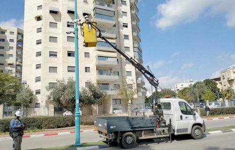 עין רואה | 15 מצלמות אבטחה ותצפית הותקנו במיקומים נוספים בעיר