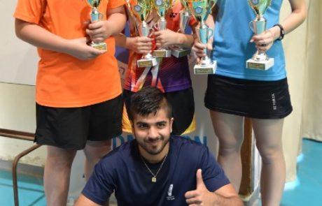 הצלחה לשחקני לוד באליפות ישראל לנוער בבדמינטון – 2017