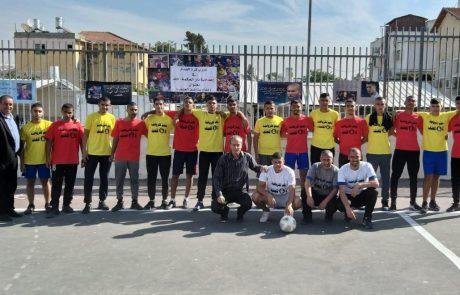 """התיכונים הערביים בלוד אומרים – """"כן לספורט, לא לאלימות!"""""""