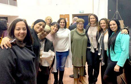 """""""נשים לזה סוף"""": לוד ציינה את יום המאבק הבינלאומי באלימות נגד נשים"""