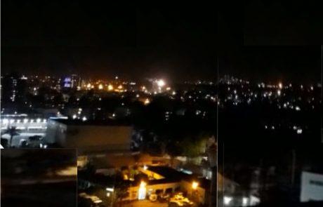 לוד 2018: 20:00 בערב, צפירת זיכרון. 20:00:01 – זיקוקים וצפירות שמחה מרכבים ערביים