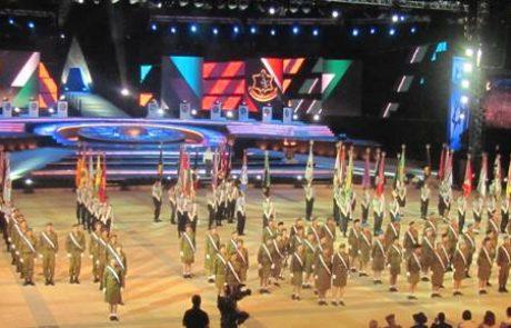 מדליקי המשואות בלוד לכבוד יום העצמאות ה-69 למדינת ישראל