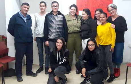 הנהגה חדשה למועצת הנוער העירונית בלוד