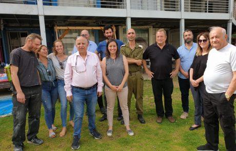 """יו""""ר מפעל הפיס בביקור בכפר הסטודנטים של איילים בלוד: """"אתם הופכים את החברה בישראל לטובה,שוויונית וצודקת יותר"""""""