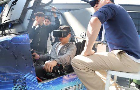 למעלה מ-500 תלמידים מלוד ורמלה הגיעו להתנסות ביריד הטכנולוגיות הגדול של משרד החינוך
