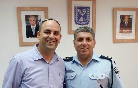 """סנ""""צ יגאל עזרא, מונה למפקד משטרת לוד"""