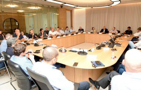 בכירי המשק בישראל הביעו אמון בעיר לוד בפגישה שהתקיימה עם ראש העיר רביבו