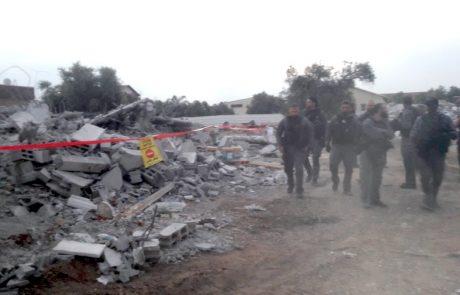 """נהרסו 3 וילות ענקיות ובלתי חוקיות בהיקף כולל של כ-1,000 מ""""ר"""