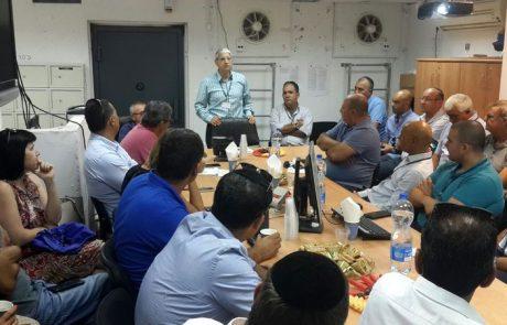 פורום מנהלי חברות במוקד העירוני בלוד