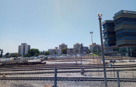 היום: תרגיל חומרים מסוכנים במסילת הרכבת בלוד