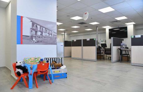 תתחדשו: מרכז השירות החדש של עמידר בעיר לוד נחנך