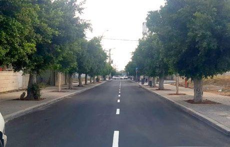 שנתיים בדיוק מתחילת העבודות: עיריית לוד מכריזה על סיום העבודות ברחוב הרצל