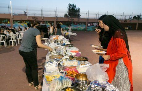 סעודת עיד אל פיטר משותפת ליהודים וערבים