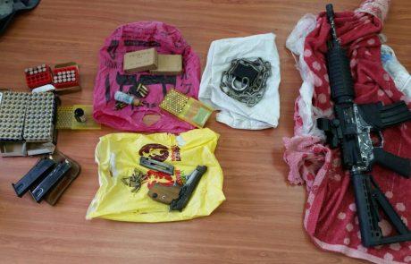 מחסן תחמושת נתפס אצל צעיר בן 23 בעיר לוד