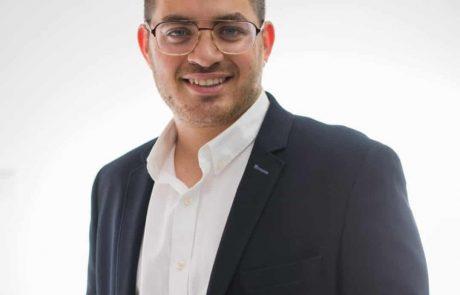 חבר מועצה חדש בעיריית לוד: עומרי סער