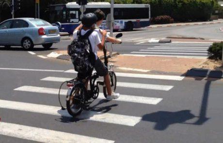 בדיקת אור ירוק: 173 דוחות ניתנו על עבירות אופניים חשמליים בלוד ב-2018