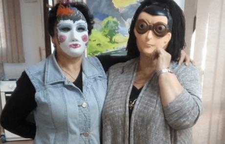 פורים שמח בבית גיל הזהב 'שפירא' של עמידר בלוד