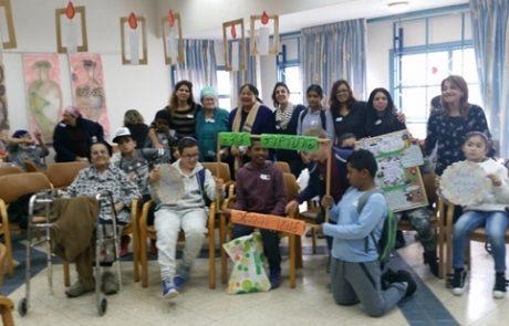 פותחים עתיד בלוד – כחלק מיום ההתנדבות הארצי