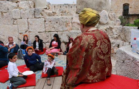 מגדל דוד מציע: מוזיאון מיוחד לאנשים מיוחדים