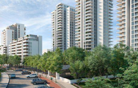 פרויקט פינוי בינוי להקמת 465 דירות ושטחי מסחר בלוד אושר להפקדה בוועדה המקומית