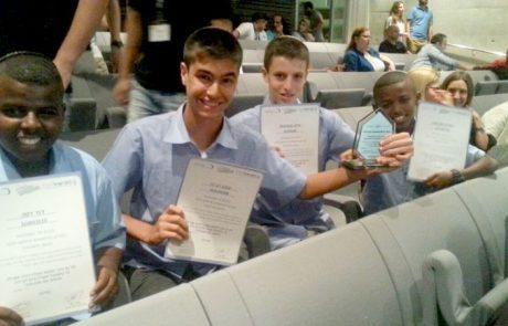 """יזמים צעירים בלוד: """"גלאיכוהול"""" – המיזם שזכה בתחרות הארצית ליזמות עסקית"""