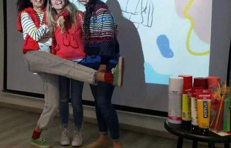 סטודנטים ממחלקת עיצוב בסמינר הקיבוצים הכינו עבודות בנושא מגדל המים של לוד