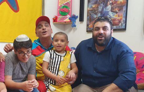 ציון עמית בת ה-4 מלוד הגשימה משאלה ונפגשה עם יובל המבולבל