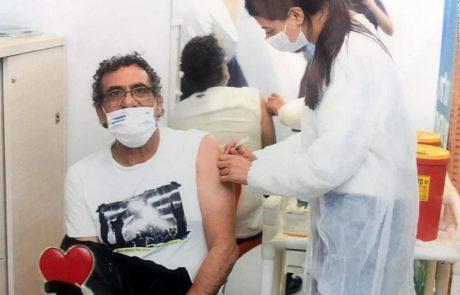 לתת כתף: החל מבצע חיסון תושבי לוד